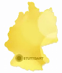 map of stuttgart